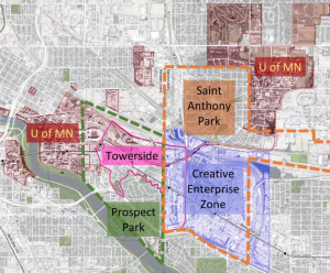 Towerside Innovation District and Creative Enterprise Zone